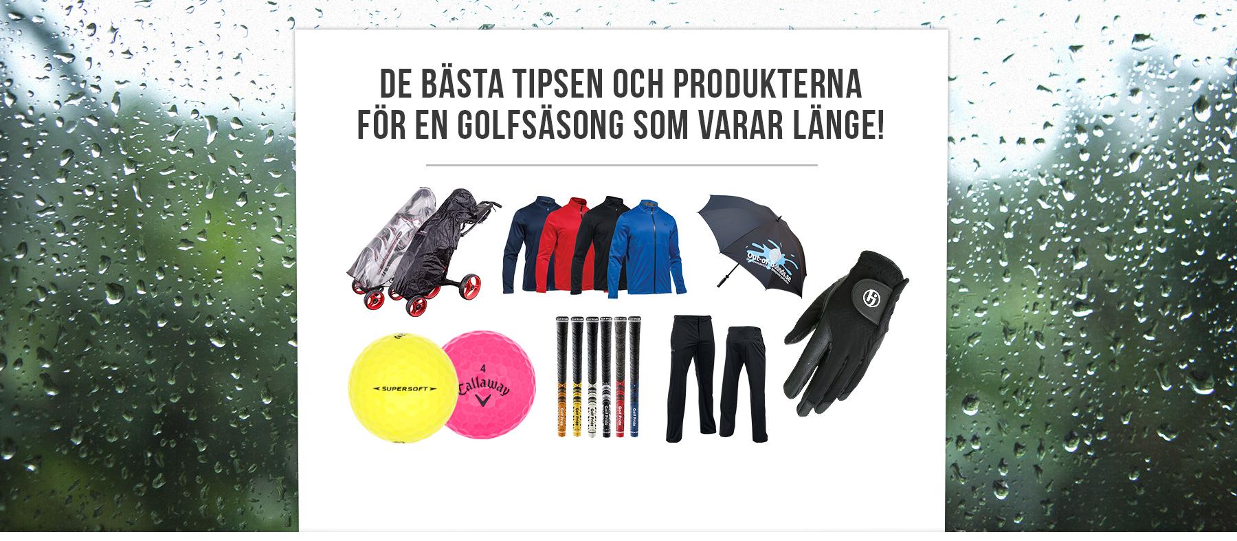 De bästa tipsen och produkterna för en golfsäsong som varar länge!