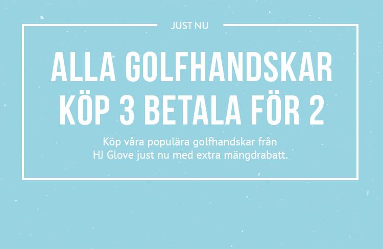 Alla golfhandskar - Köp 3 betala för 2!