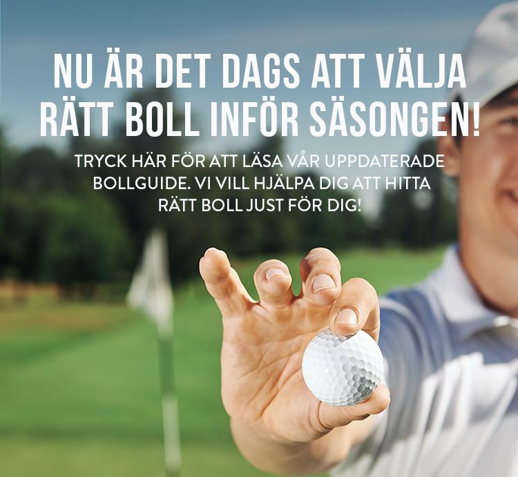 Vår uppdaterade bollguide - Välj rätt golfboll