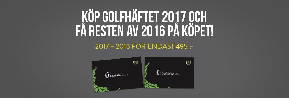 Golfh�ftet 2016 p� k�pet