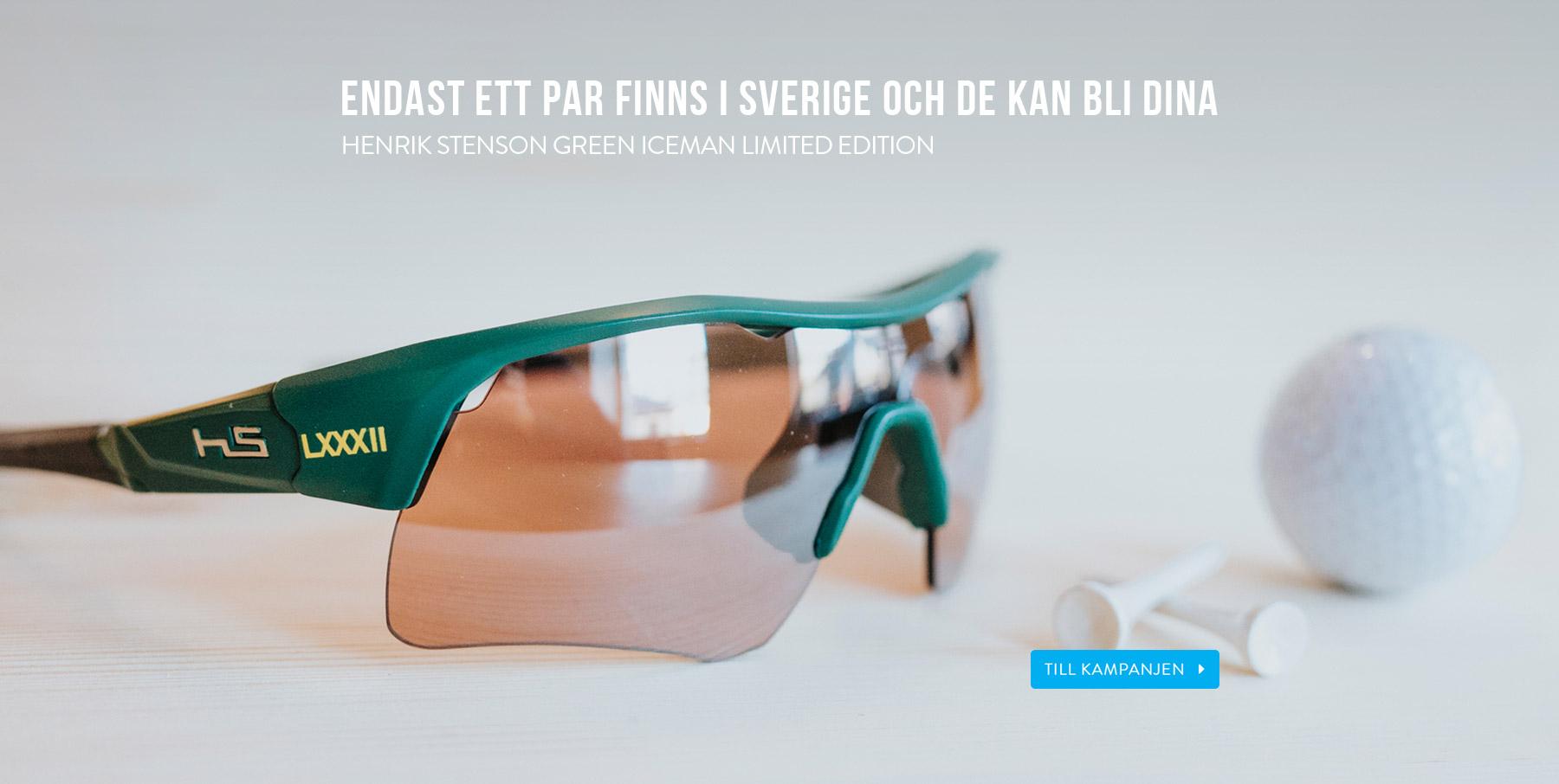 Vinn Henrik Stenson Green Iceman Limited Edition