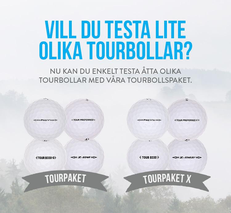 Vill du testa lite olika tourbollar?
